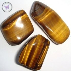 Golden Tiger Eye Tumble Stone